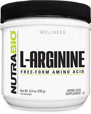 Image of NutraBio Arginine Powder - 250 Grams