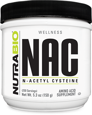 Image of NutraBio N-Acetyl-Cysteine Powder (NAC) - 150 Grams