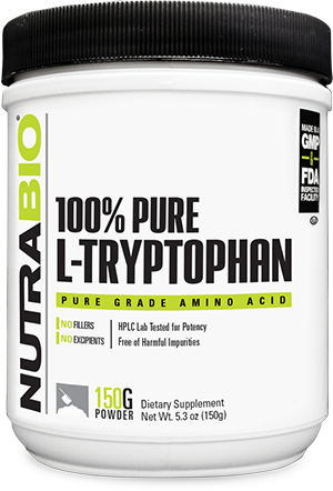 Image of NutraBio Tryptophan Powder - 150 Grams