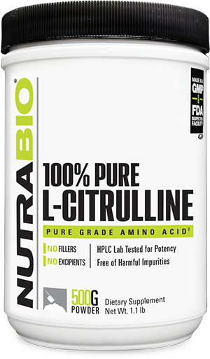 Image of NutraBio Citrulline Powder - 500 Grams