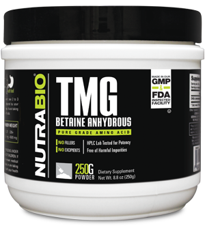 Image of NutraBio TMG (Betaine Anhydrous) Powder - 250 G