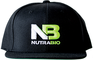 Image of NutraBio NutraBio Hat - Black