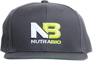Image of NutraBio NutraBio Hat - Dark Grey