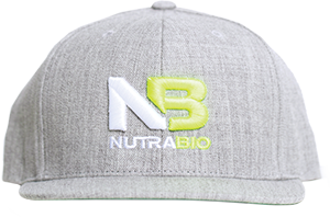Image of NutraBio NutraBio Hat - Light Grey