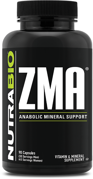 Image of NutraBio ZMA - 90 Vegetable Capsules