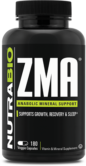 Image of NutraBio ZMA - 180 Vegetable Capsules