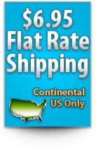 NutraBio Flat Rate Shipping