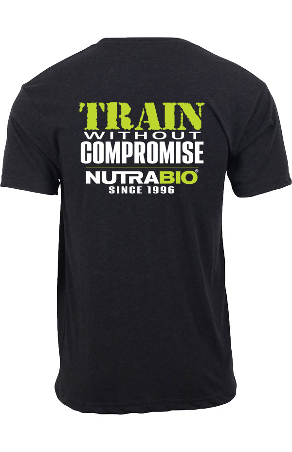 NutraBio T-Shirt - Train Without Compromise